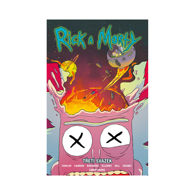 Crew Komiks Rick a Morty 3