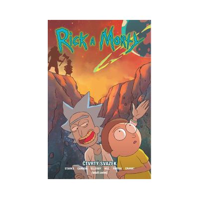 Crew Komiks Rick a Morty 4