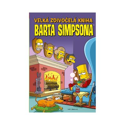 Crew Komiks Velká zdivočelá kniha Barta Simpsona