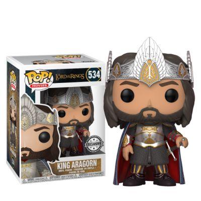 Král Aragorn - Pán prstenů