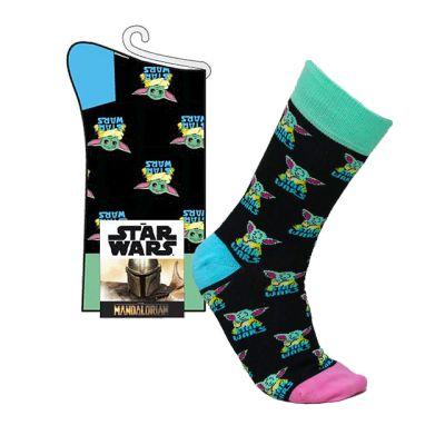 Mandalorian Baby Yoda Ponožky 35-41