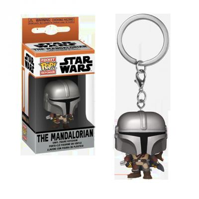 Pocket POP Mandalorian - přívěsek na klíče
