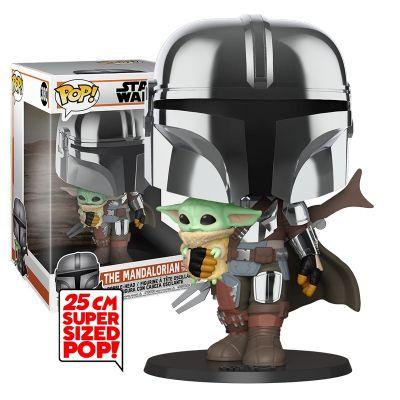 Mandalorian with Baby Yoda 25cm