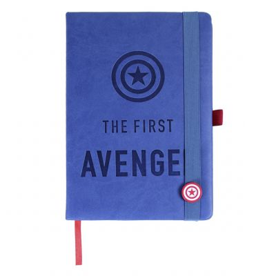 Avengers Captain America Notebook