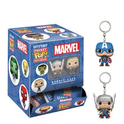 Marvel přívesky na klíče - Blindbox