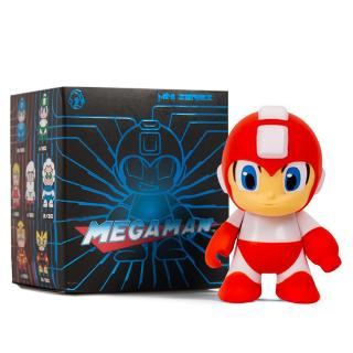 Metallic Mega Man Red