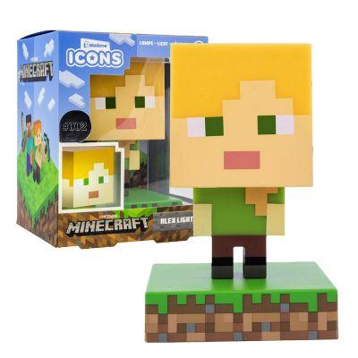 Minecraft 3D light Alex