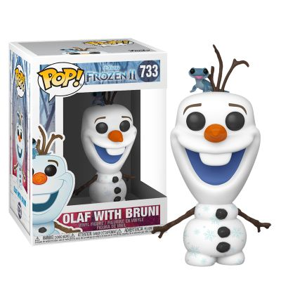 Olaf with Bruni - Frozen
