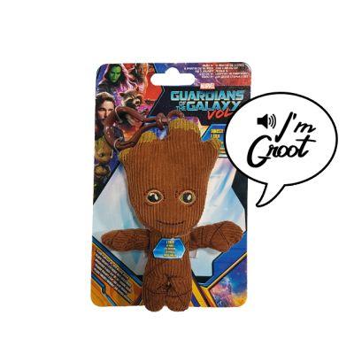Plyšový mluvící Groot - přívěsek