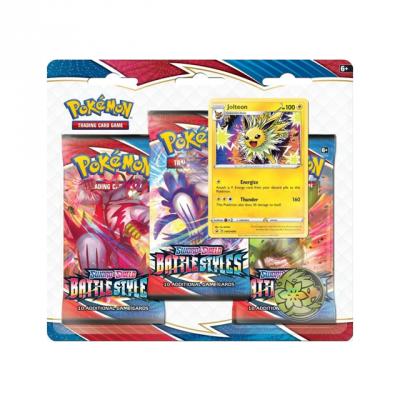 Pokémon Pokémon: Battle Styles 3x Booster Pack - Jolteon
