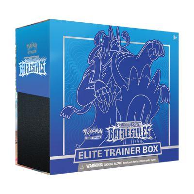 Pokémon: Blue Battle Styles Elite Trainer Box