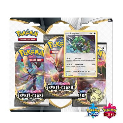 Pokémon: Rebel Clash 3x Booster Pack - Rayquaza