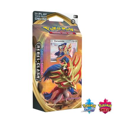 Pokémon: Rebel Clash Theme Deck - Zamazenta