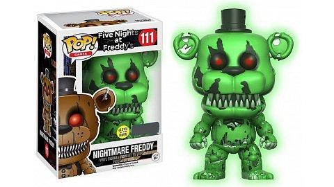 FNAF Nightmare Freddy svítící ve tmě EXCLUSIVE