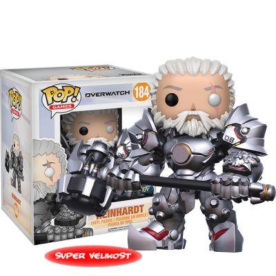 Reinhardt bez masky - Overwatch