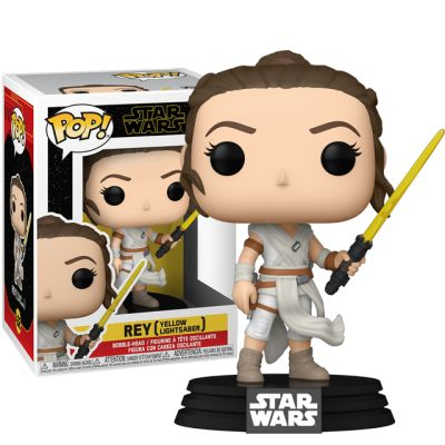 Rey with Yellow Lightsaber