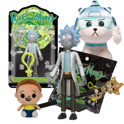 Rick and Morty #3 Pack