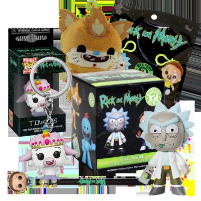 Funko Rick a Morty #4 Balíček