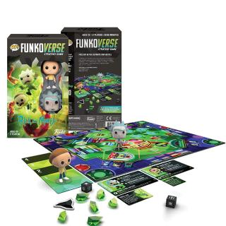 Rick and Morty Funkoverse - board game