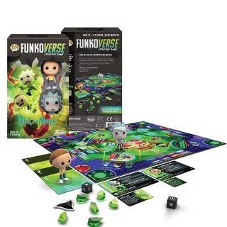 Rick a Morty Funkoverse - desková hra