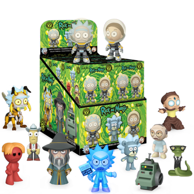 Mystery Minis Rick a Morty série 3 Exclusive - Blindbox
