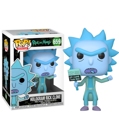 Funko POP Rick Hologram