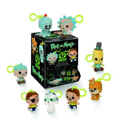 Rick & Morty plushie keychain - Blindbox