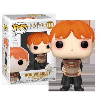 Funko POP Ron Weasley se slimáky