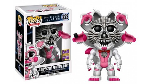 Jumpscare Funtime Foxy Funko POP