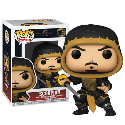 Funko POP Scorpion - Mortal Kombat CHASE