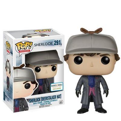 Sherlock s loveckou čepicí