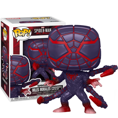 Funko POP Spider-Man Miles Morales - Programmable Matter Suit
