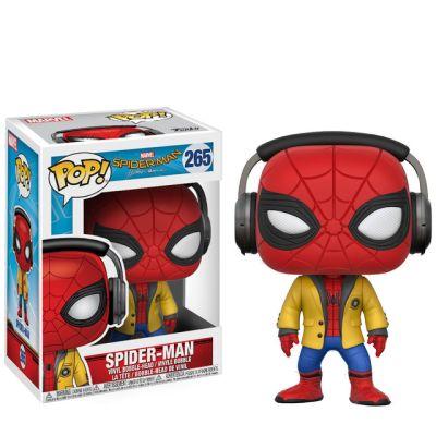 Spider-Man se sluchátky