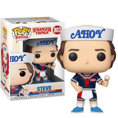 Steve s čepicí