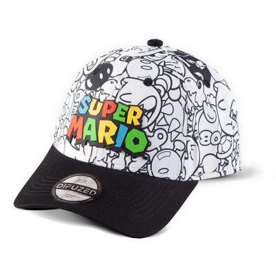Difuzed Super Mario Snapback Kšiltovka