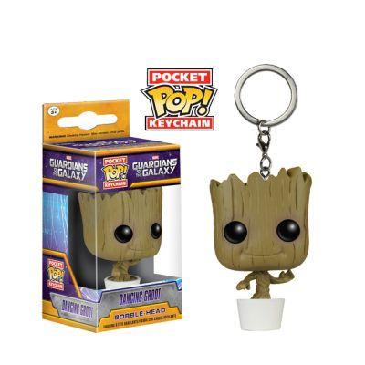 Tancující Groot - přívěsek na klíče