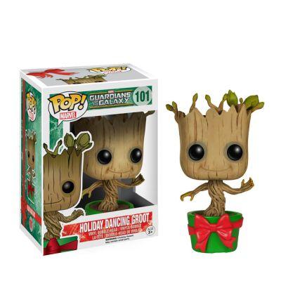Vánoční tancující Groot