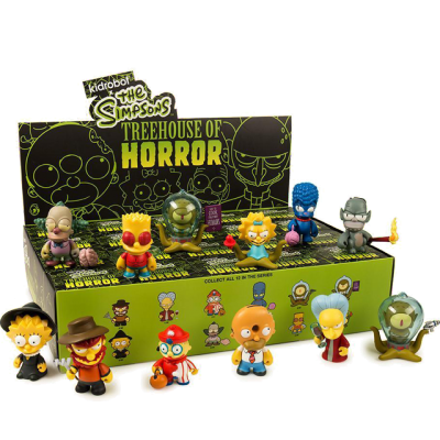 Kidrobot The Simpsons Treehouse of Horror - Blindbox