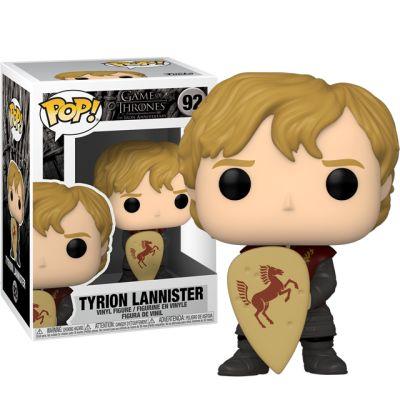 Tyrion Lannister se štítem