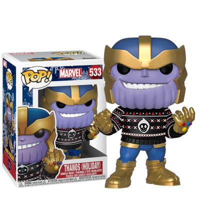 Vánoční Thanos ve svetru