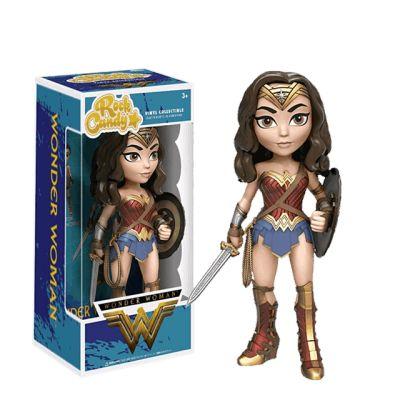 Wonder Woman se štítem - Rock Candy